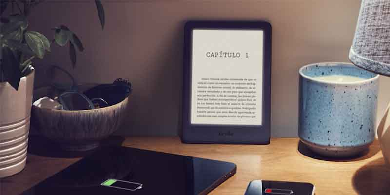 Kindle táctil de Amazon
