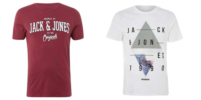 oferta-camisetas-jack-jones