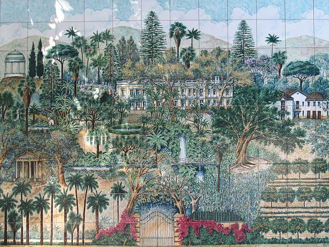 Jardin botánico La concepcion
