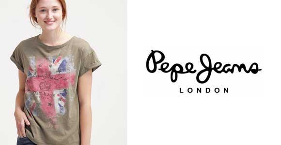 Descuentos en Pepe Jeans de mujer