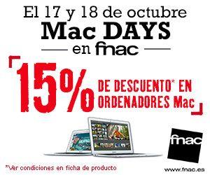 15% de descuento en ordenadores Mac 2