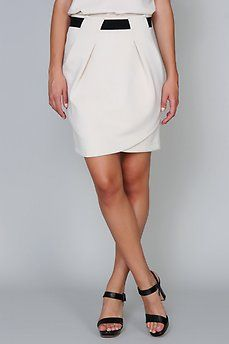 Descuento extra - Falda banda elástica con pinzas de Vero Moda