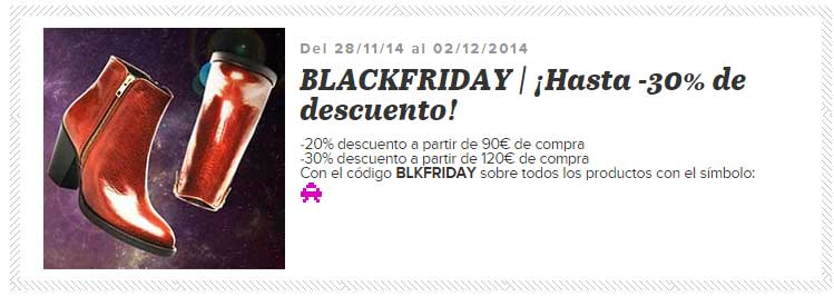 Black Friday en Sarenza