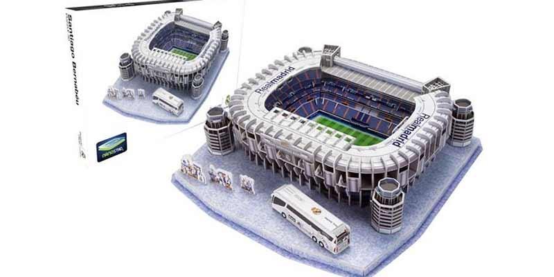 Estadio Santiago Bernabeu, puzzle 3D
