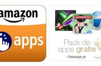 Amazon te regala aplicaciones Android