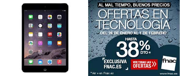 iPad mini 16 GB WiFi por 199 euros