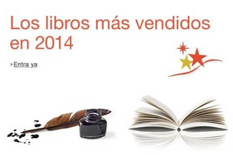 Libros más vendidos en 2014