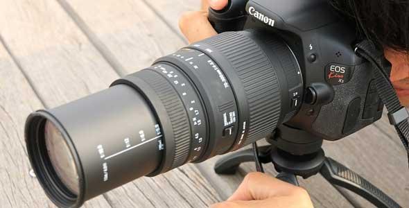 Oferta objetivo Sigma 70-300 para Canon