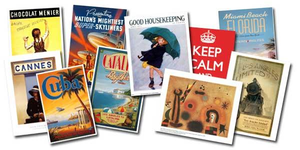 Posters y Láminas artísticas