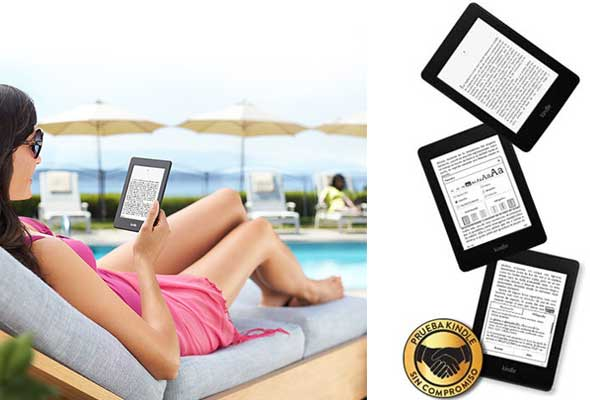 Kindle el mejor lector de eBooks