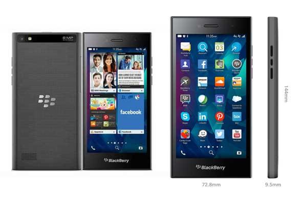 Novedades Smartphones 2015 - BlackBerry Leap