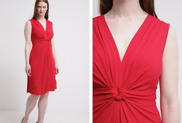 Anna-Field-Vestido-de-algodón-rojo