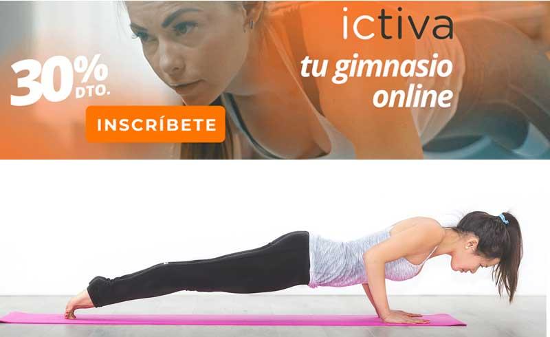 gimnasio online ejercicios en casa