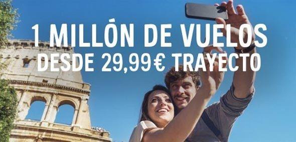 Vuelos baratos Abril 2015 - desde 29.99€ -