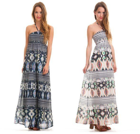 Maxi-vestido étnico de Only - Shopping Night - Descuentos en Moda