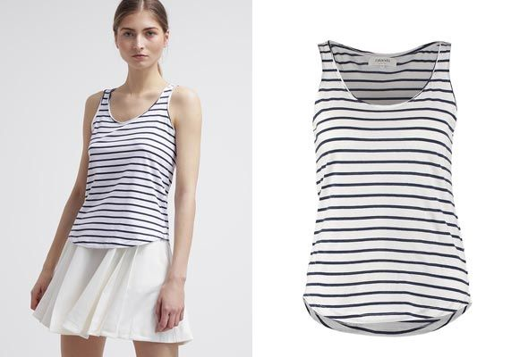 Ultimas tendencias y descuentos de primavera. Zalando-Essentials-Top---white-navy