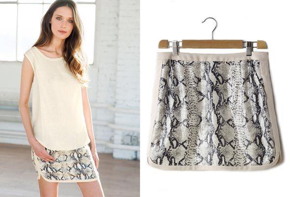 Faldas de lentejuelas en oferta