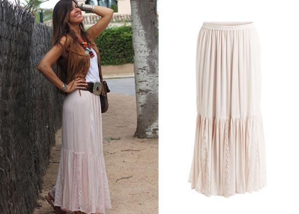 My Tenida - falda larga ibicenca de Vila Clothes