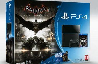 Playstation 4 500Gb + Batman Arkham Knight 2