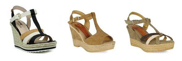 Sandalias t-strap de mujer en oferta 1