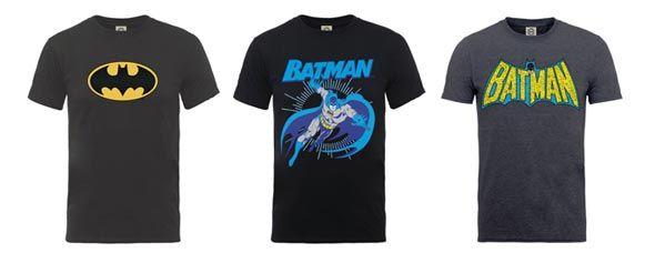 Camisetas Batman por solo 12.96€ 1