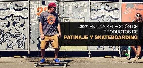 Descuentos en Patines y tablas de Skate