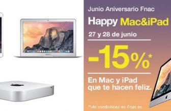 Descuento 15% en Mac & iPad 1
