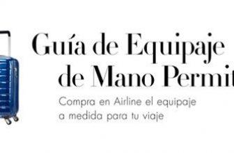 Guía de medidas equipaje de mano en Aerolíneas 2