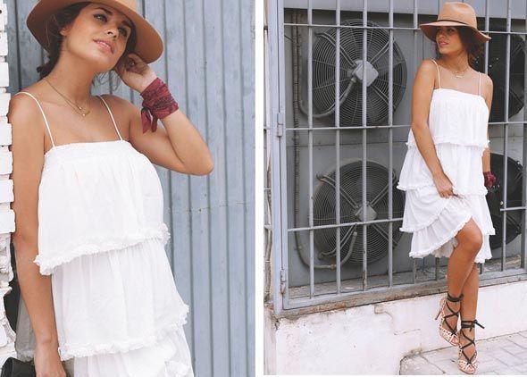 Rebajas de verano en Buylevard - La blogger de moda Seamsforadesire con este modelo ad-lib de Vila Clothes