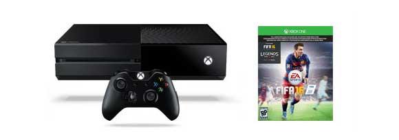 Consola Xbox One 500Gb +-Fifa 16