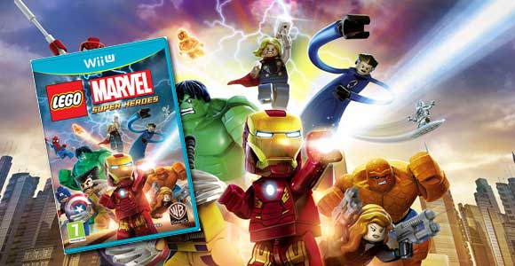 ¡Chollo! LEGO Marvel SuperHeroes para Wii U