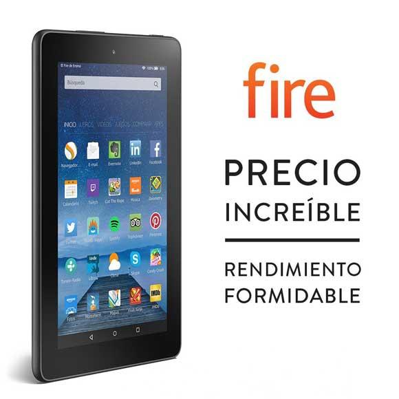 Nuevo Amazon Kindle Fire por menos de 60 euros