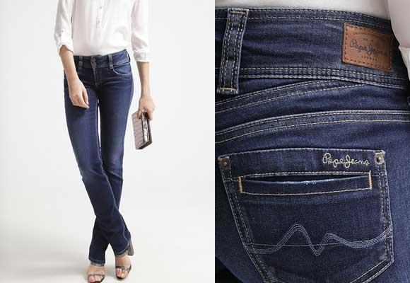Pantalones vaqueros baratos de marca. Pepe-Jeans