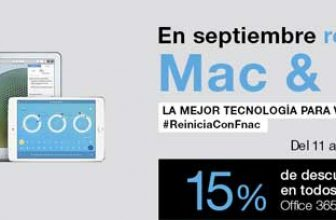15% de descuento en Mac y iPad en Fnac 1