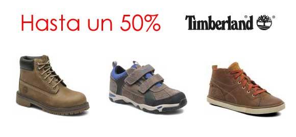 Zapatos Timberland descuentos hasta un 50%