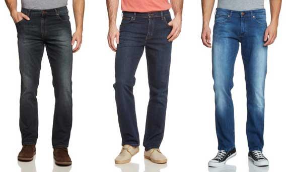 Pantalones vaqueros Wrangler para hombre