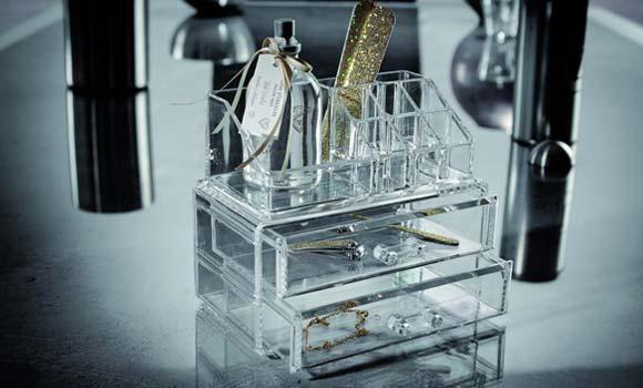 Organizador cosmeticos de metacrilato