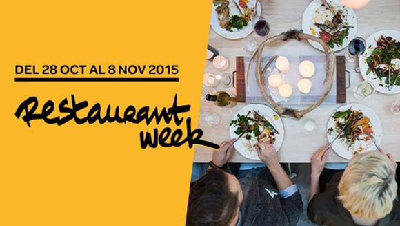 Restaurant Week 2015 Madrid y Barcelona