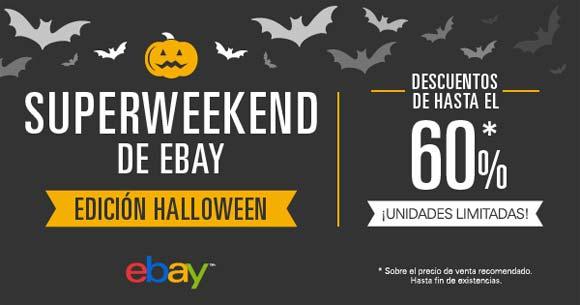 SuperWeekend de eBay edición Halloween 2015