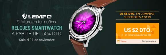 AliExpress ofertas Relojes Smartwatch