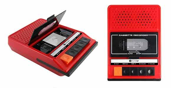 Altavoces-para-iPhone-con-Forma-de-Radiocassette-regalos-vintage