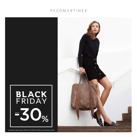 Descuentos Black Friday Paco Martinez