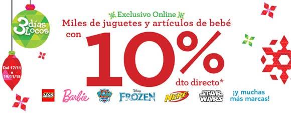 Descuento 10% en juguetes ToysRus y BabiesRus 3