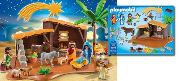 Belén Playmobil - Un estupendo regalo de Navidad.