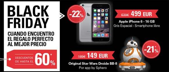 Black Friday en eBay con descuentos hasta el 60%.