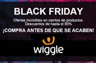 Black Friday en ropa deportivaen Wiggle.