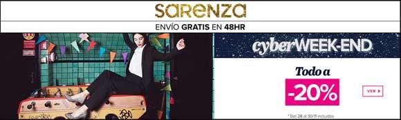 Black Friday 2015 en Sarenza - 20% descuento