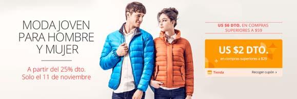 AliExpress ofertas moda joven