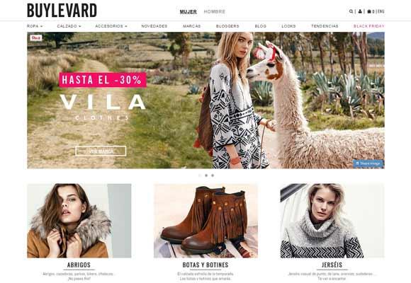 La moda online se apunta al Black Friday Buylevard