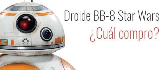 Droide BB-8 de Star Wars. Precios y modelos. 5